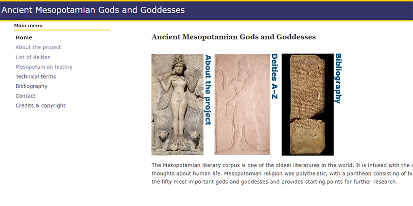 Ancient Mesopotamian Gods and Goddesses